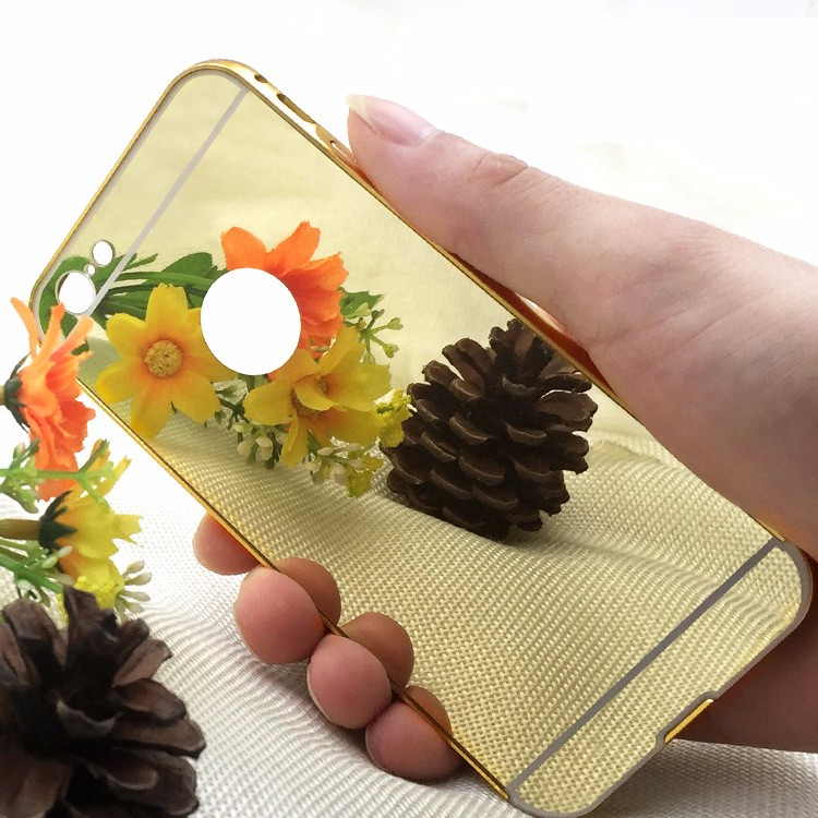 shenzhen electroplating mirror mobile phone shell case for iphone 6