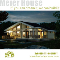 Wooden House manufacturer in Zhejiang DY-D-165