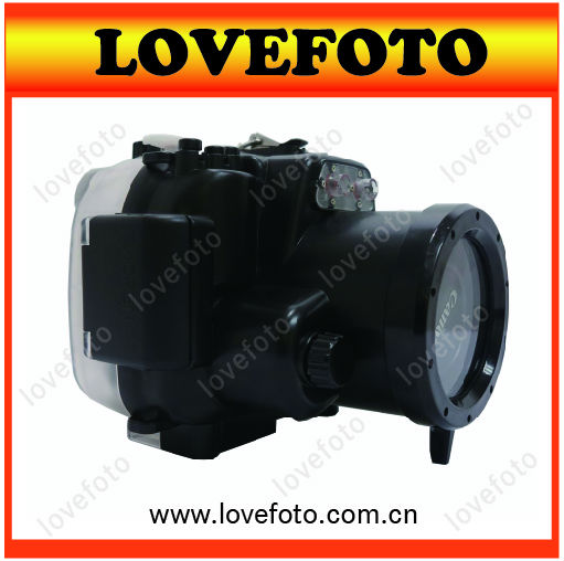 For Canon EOS 600D 18-55mm lens Camera Underwater Diving Housing Waterproof Case