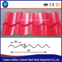 High strength Steel Sheets for building materials Corrugated metal roofing sheet/colorful galvanized corrugated roofing