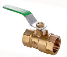 NPT BSP Forged Full Port brass ball valve with female screw thread