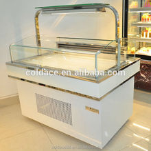 Bakery Customized Store Top Opening Chocolate Display Cooler