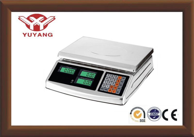 Precision Stainless steel rechargeable battery for digital weighing scale YY-926