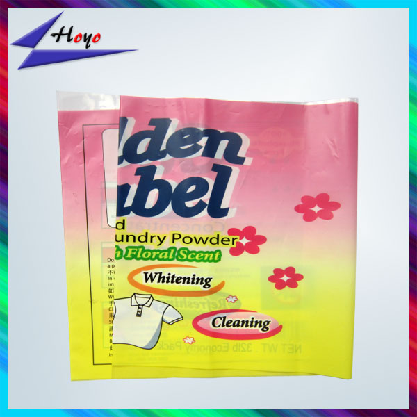 custom label PPE flexible packaging film types for detergent wrapping
