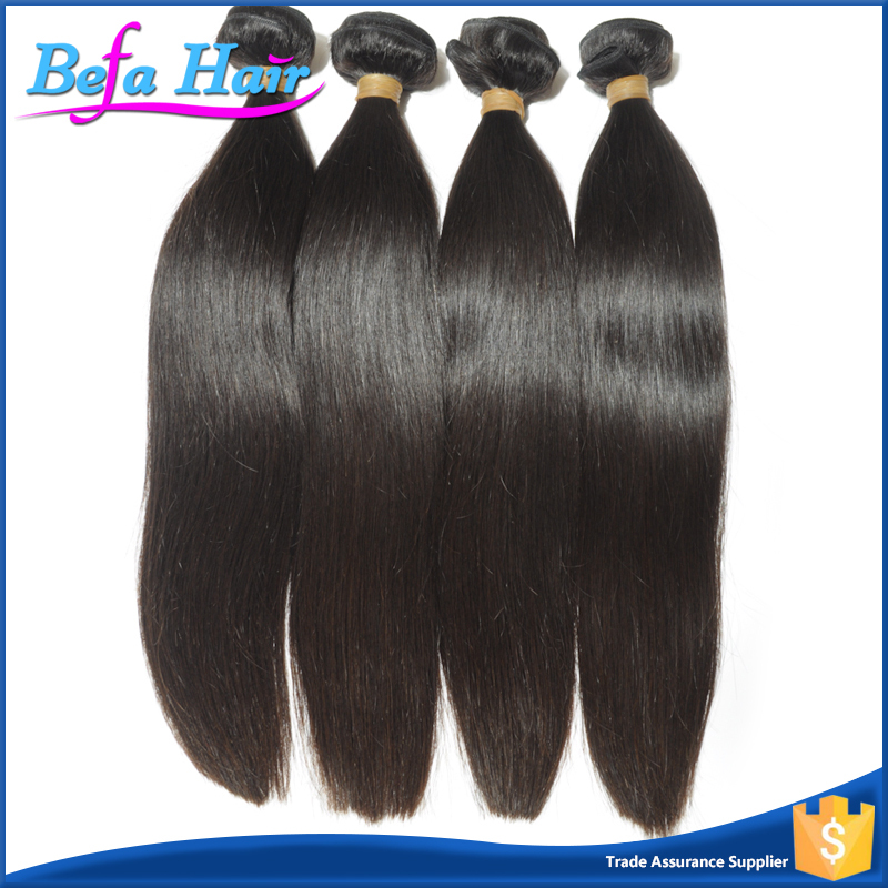 100% High Quality 6A!!! Virgin Brazilian Straight Human Hair