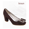 Dirndl shoes, women suede leather shoes trachten , Bavarian shoes ladies