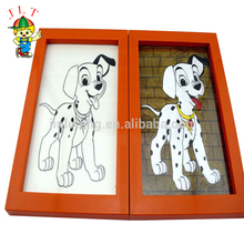 Children DIY painting toys with photo frame wall decoration painting