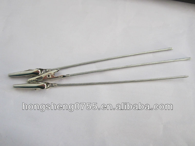 High quality Alligator clip with wire in bulk price from china