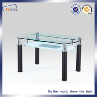Wholesale Extending Glass Dining Table Used Indoor Furniture