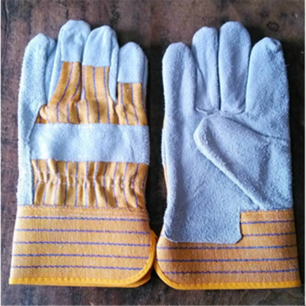 AB grade wholesale leather welding gloves