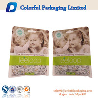 Custom printing biodegradable empty aluminium foil tea bag kraft paper