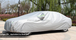 PEVA+PP folding garage car cover