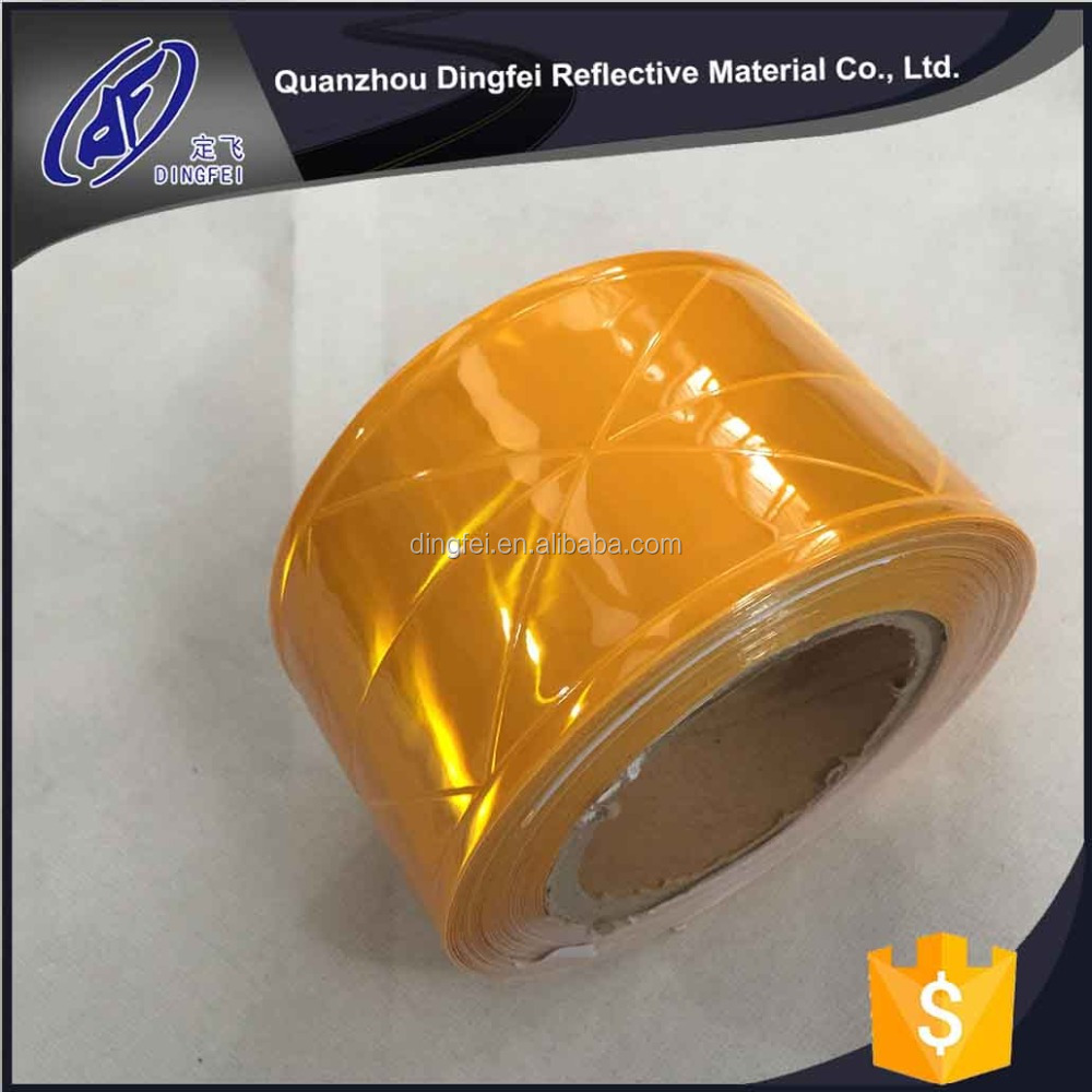 reflective PVC tape micro prism reflective material for safety vest