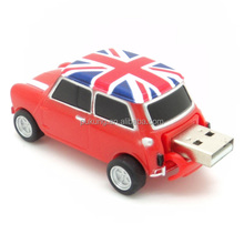 plastic cool jeep car usb pen drive for gift