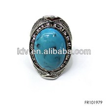 diamond ring vintage gold rings turquoise ring