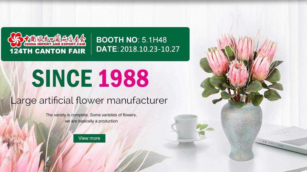 Foshan Hoforwill Arts Crafts Co Ltd Artificial Flower Silk