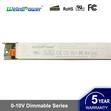 3in1 constant current 0-10V dimming 40w 60w resistor dimmable pwm led driver UL approved