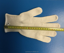 cheap <strong>safety</strong> working 100% cotton heat resistant gloves for very high temperature