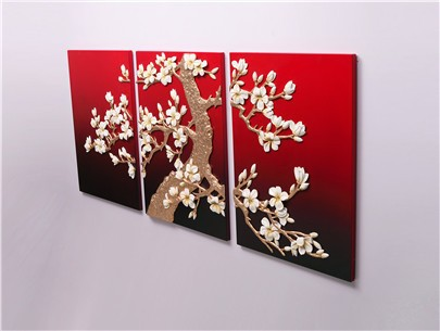how to make 3d paintings on canvas