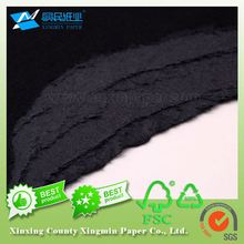 With Low Price Factory Waste Recycling Black Paper