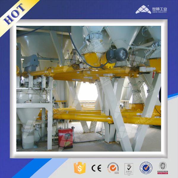 powder storage and automatic batching dosing system