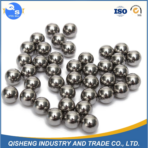 G1000 17mm carbon steel ball for Braille alphabets AISI1050