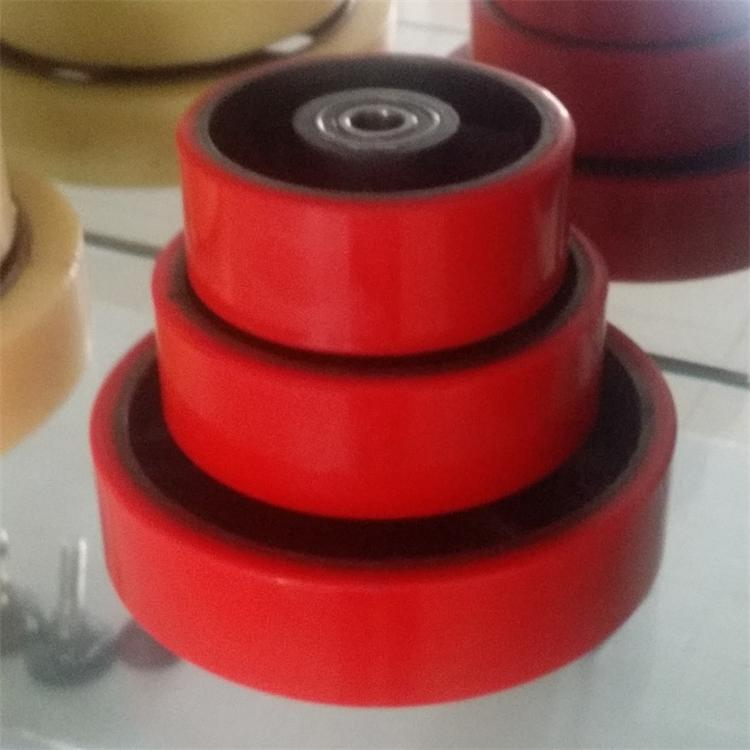 High Quality China Polyurethane hand hydraulic forklift wheels industrial caster