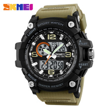 Sports watches made in china outdoor 5 atm water resistant stainless steel watch relojes hombre men