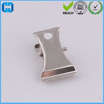 Heavy Duty Metal Badge ID Holder Clips SGS Approved