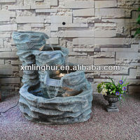 Imitation Stone Carving Craft Water Garden