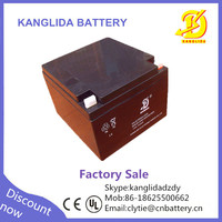 12v 24ah free maintenance battery for vehicle flow detection
