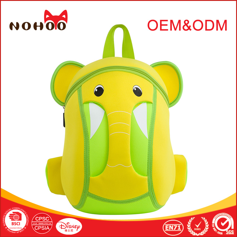 Custom child safety name on backpack mini school backpacks for primary school
