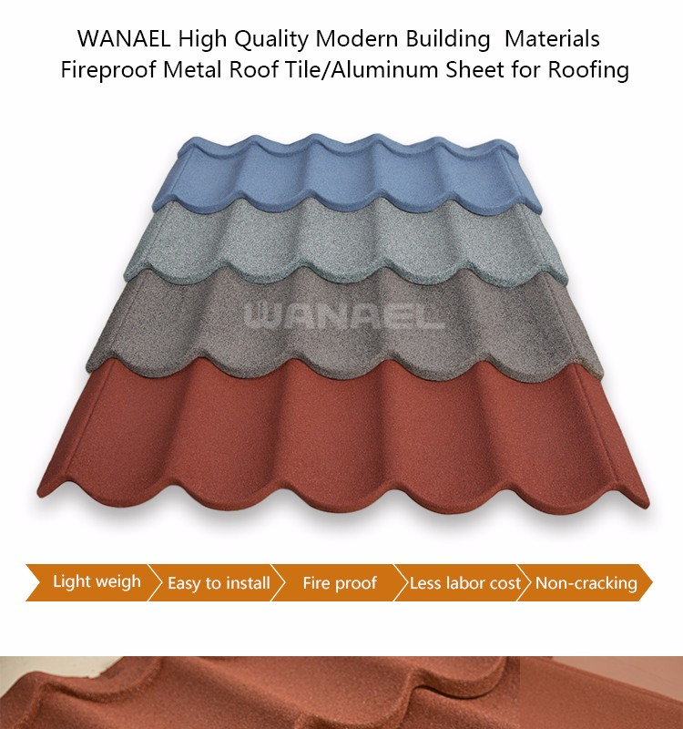Cheap roofing materials modern house design types aluminum for Cheapest type of home to build