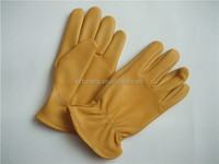 deerskin leather working Gloves / driving gloves / motorcycle gloves