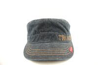 cotton military denim hat