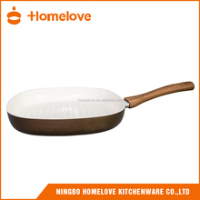 [Factory Outlet]Ceramic/Marble Coated Non-stick Crepe Pan with S/S Handle