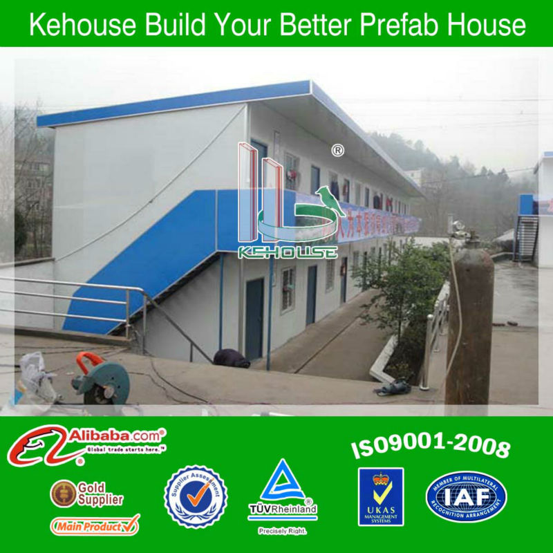 Residential house design of duplex prefabricated wooden prefab homes made in china