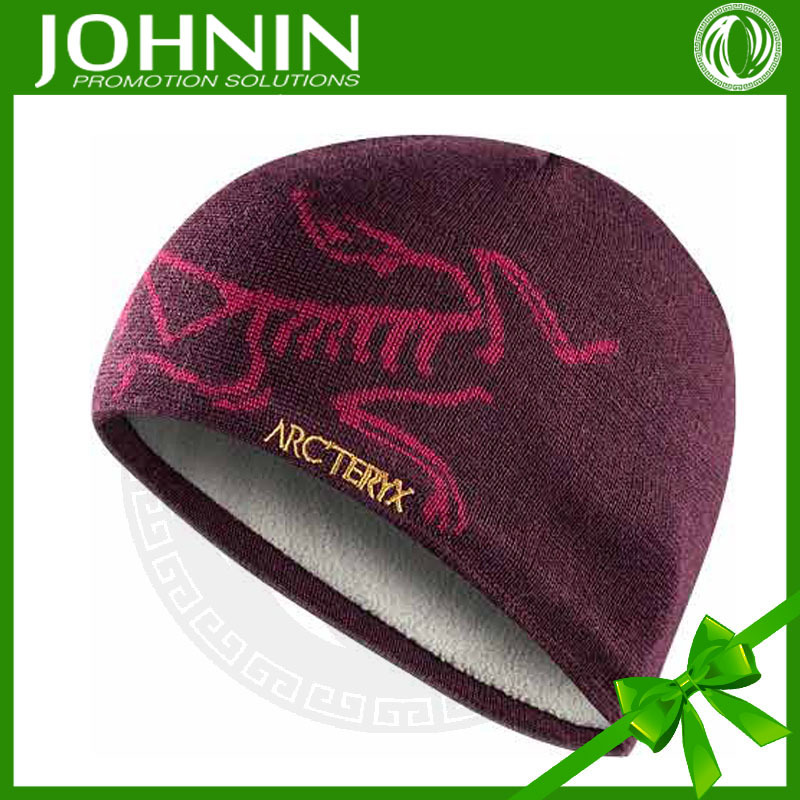 new 2016 wholesale cheap sale good quality red knit beard beanie hat