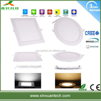 Hot selling factory price high lumen dimmable 18w round led flat panel ceiling light