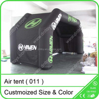 Inflatable garden tent for advertising and events
