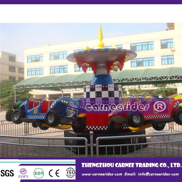 Kids LOve !! Park amusement mechanical rides jumping cars for sale