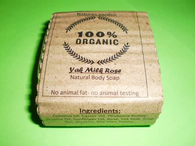 Yakmilk rose soap