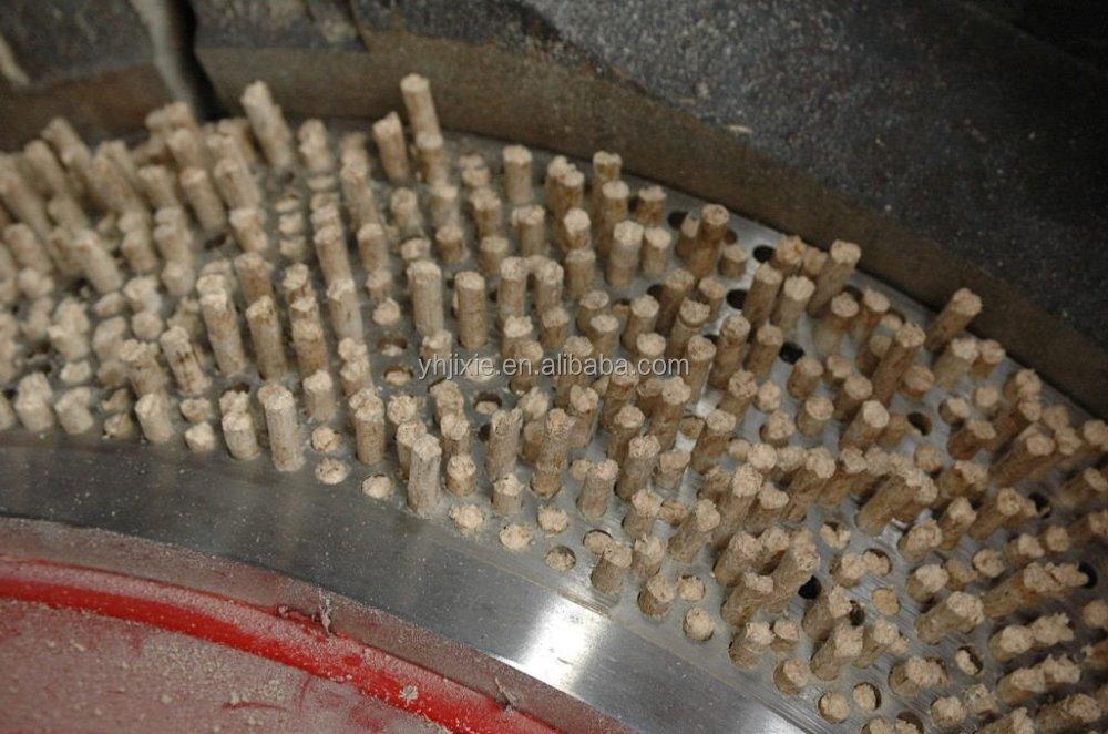 Usine balle de riz luzerne machine à granulés de bois