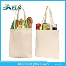 Eco friendly recyclable 100% natural shopping cotton bag wholesale