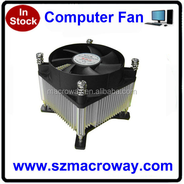 rohs thermal solution factory price intel i3 i5 cpu cooler fan 1155