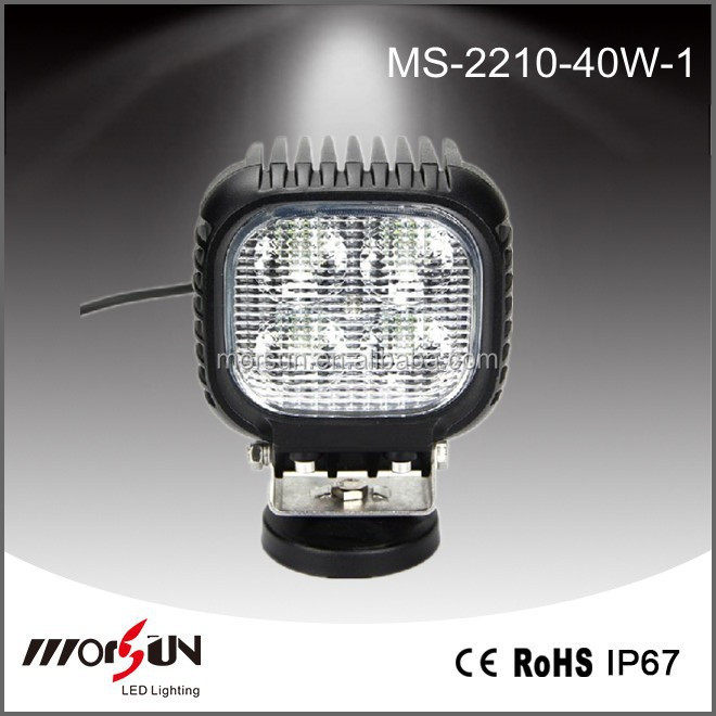 Wholesale 40 watt 3400lm new 40w car offroad motorcycle bike Agriculture vehicle led tuning light