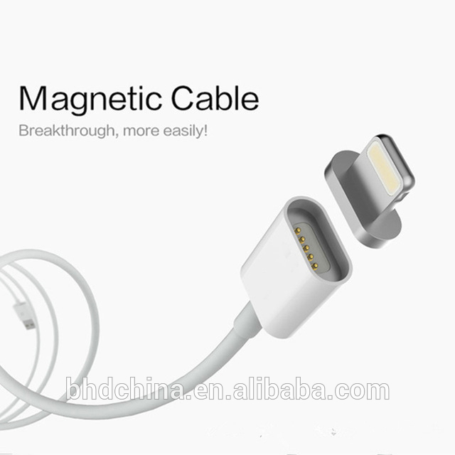 Super Fast 2.4A usb data android mirco magnetic charging cable for iphone 7