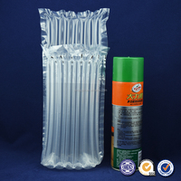 PE/PA transparent plastic air column bag, air bubble rotective packaging for mailing or transportation products
