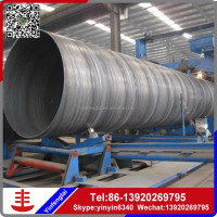 spiral welded steel pipe for oil/ssaw steel pipe welded steel pipe manufacturing
