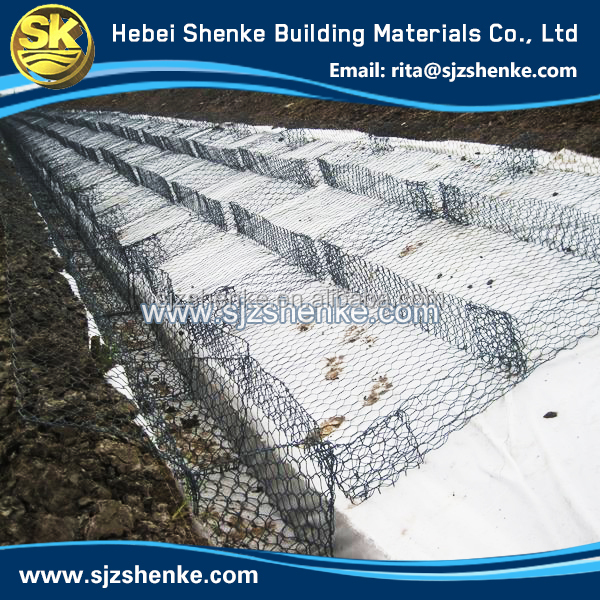 hexagonal wire mesh and welded wire mesh price for gabion box